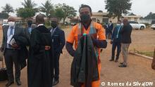 Der Angeklagte Teófilo Nhangumele gilt als eine der Schlüsselfiguren im Verfahren der versteckten Schulden in Mosambik.