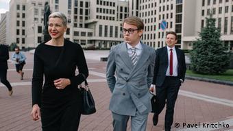 Илья Салей и Мария Колесникова до задержания