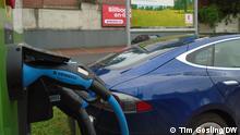 Ladeterminal für E-Autos in Prag