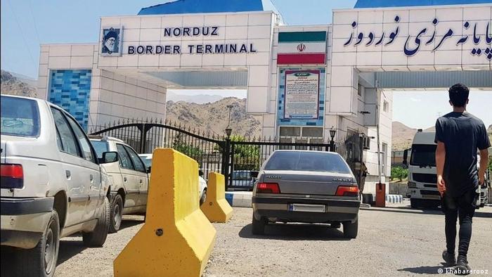 یکی از گدرگاههای مرزی ایران و ارمنستان