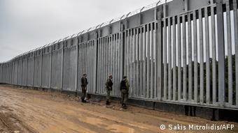 Έβρος, Ελληνοτουρκικά σύνορα, Τείχος