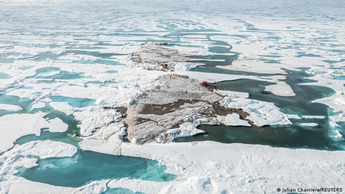 Nördlich von Grönland l nördlichste Insel der Welt entdeckt