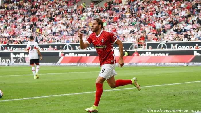 1. Bundesliga | VfB Stuttgart vs SC Freiburg | Torjubel (0:3)