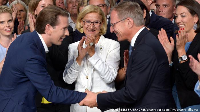 Österreichs Kanzler als ÖVP-Chef wiedergewählt