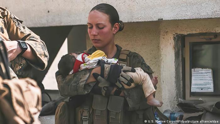 Afghanistan, Kabul | getötete US-Soldatin Nicole Gee