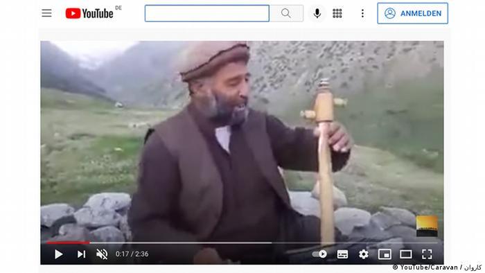 Афганский исполнитель Фавад Андараби