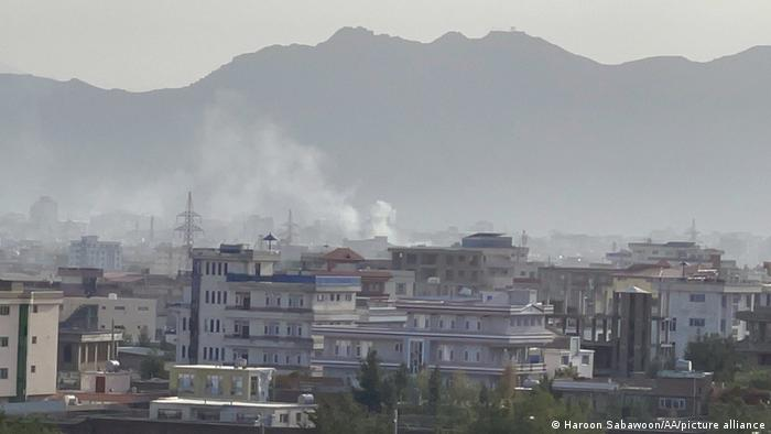 Afghanistan Krise l Explosion in Kabul
