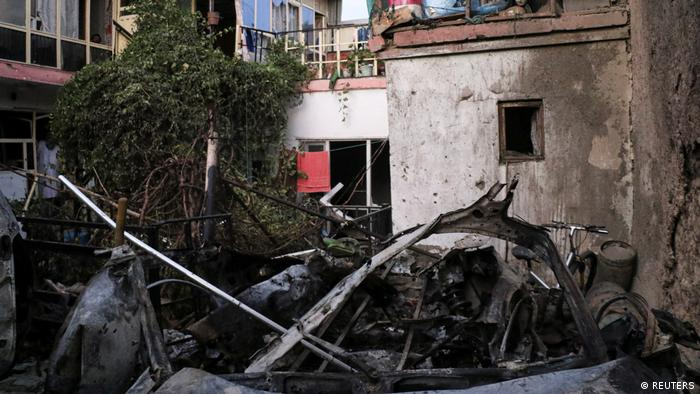 Afghanistan US-Drohnenangriff in Kabul
