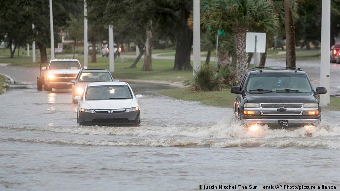 Kasırga Missisippi eyaletinde de su taşkınlarına yol açtı