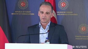 Heiko Maas zu Besuch in der Türkei