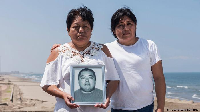 Mexiko Angehörige eines Verschwundenen