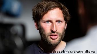 Ruben Neugebauer, co-organisateur de Luftbrücke Kabul