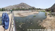 dried up kabul river, kabul, Afghanistan kabul Kabul Afghanistan Copyright: xTonxKoenex/xVWPicsx TKO-03512