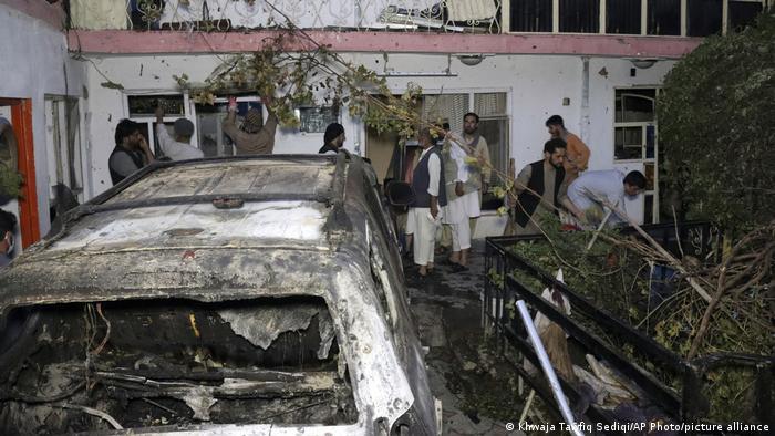 Наслідки помилкової атаки дроном США на цивільного чоловіка на прізвище Ахмаді в Кабулі