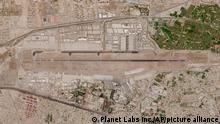 28.08.2021 In this satellite photo taken by Planet Labs Inc., Kabul's international airport is seen Saturday, Aug. 28, 2021. Taliban forces sealed off Kabul's airport Saturday to most Afghans hoping for evacuation, as the U.S. and its allies were ending a chaotic airlift that will end their troops' two decades in Afghanistan. (Planet Labs Inc. via AP)