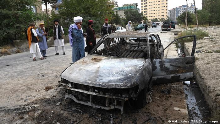 Επίθεση με πυραύλους στην Καμπούλ στις 30 Αυγούστου