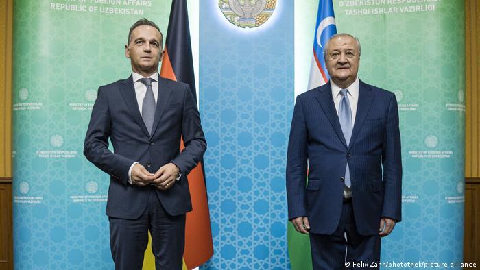 Uzbekistan Tașkent| Heiko Maas Abdulaziz Komilov