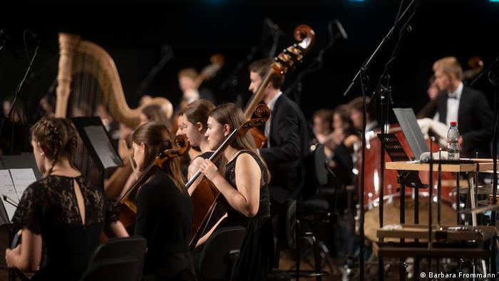 Концерт оркестрового кампуса на Бетховенском фестивале в Бонне