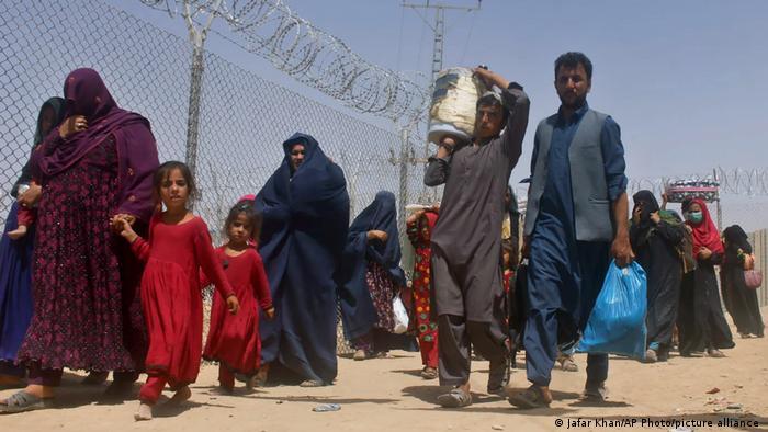 Afghanistan-Pakistan   Grenze