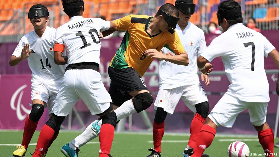 Paralympics Tokio 2020 auffällig / 30.08.2021