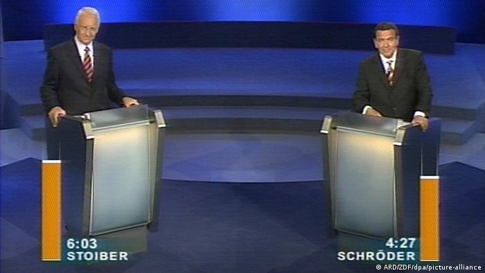 TV-Duell 2002 | Schroeder vs. Stoiber