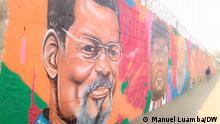 Angola Mauer des Widerstands