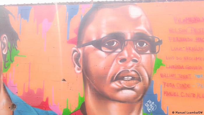 Angola Mauer des Widerstands Manuel Chivonda Nito Alves