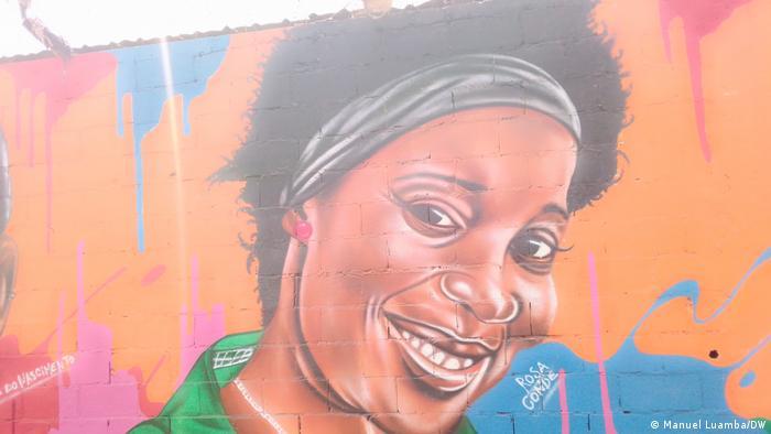 Angola Mauer des Widerstands Rosa Conde