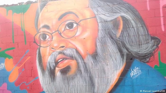 Angola Mauer des Widerstands Luís Araújo