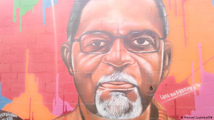 Angola Mauer des Widerstands Luís Nascimento