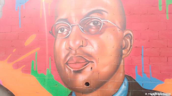 Angola Mauer des Widerstands Fernando Macedo