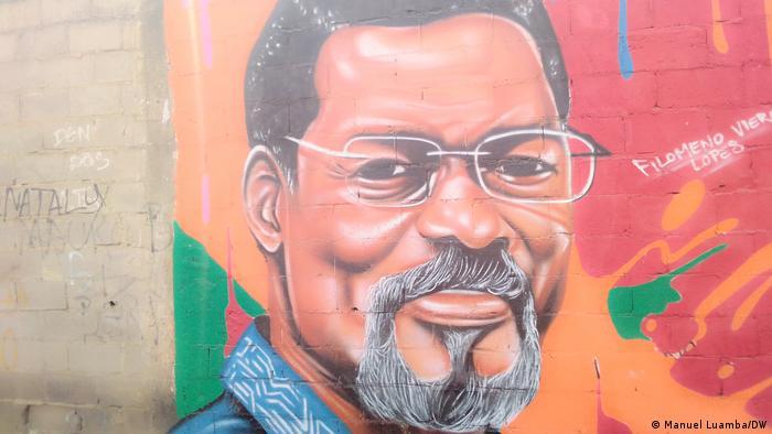 Angola Mauer des Widerstands Filomeno Vieira Lopes