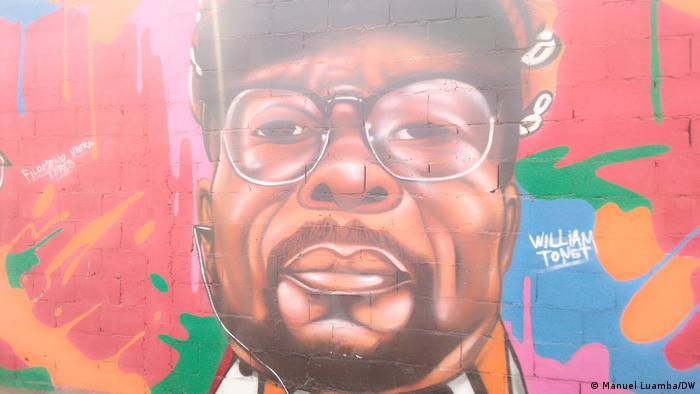 Angola Mauer des Widerstands William Tonet
