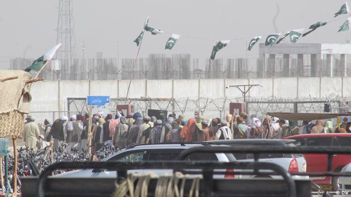 Afghanistan   Pakistan   Grenzübergang in Chaman