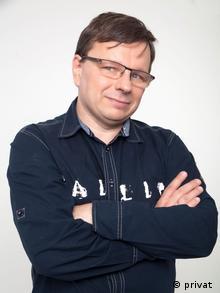 Белорусский писатель Андрей Жвалевский