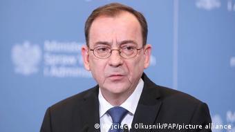 Польский министр внутренних дел Мариуш Каминьский