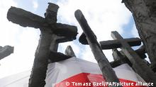 Варшава: пам'ятник жертвам радянського вторгнення