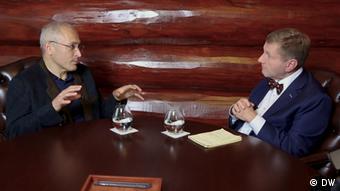 Интервью DW с Михаилом Ходорковским