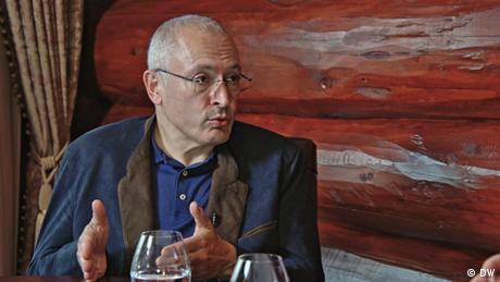 <div>Mikhail Khodorkovsky: 'Dialogue only strengthens Putin's regime'</div>
