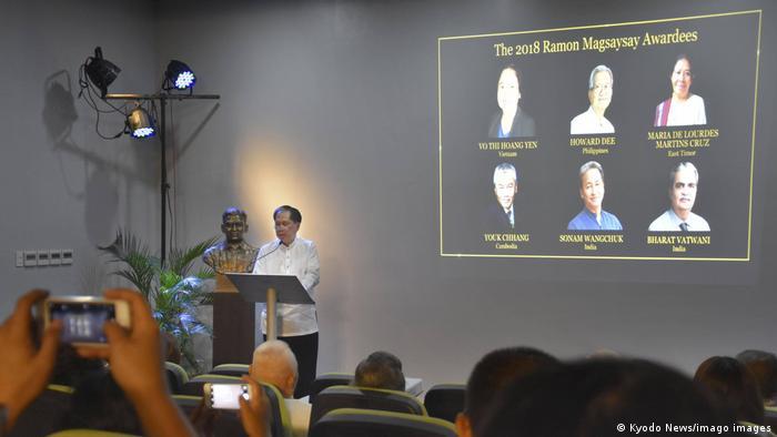 Penghargaan Ramon Magsaysay Award tahun 2018
