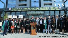 Türkei neues Justizjahr Beschreibung: Ankara Anwaltskammer /Pressekonferenz Quelle: Privat / Ankara Anwaltskammer