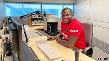 DW Kiswahili editor Jacob Safari Bomani