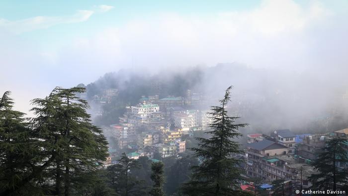 McLeod Ganj, sede del Dalai Lama y del gobierno tibetano en el exilio.
