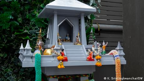 <div>Thailand's 'spirit houses' believed to bring fortune and protection</div>