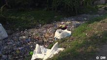 Kongo / Plastikmüll / DW Fluss voller Plastikmüll