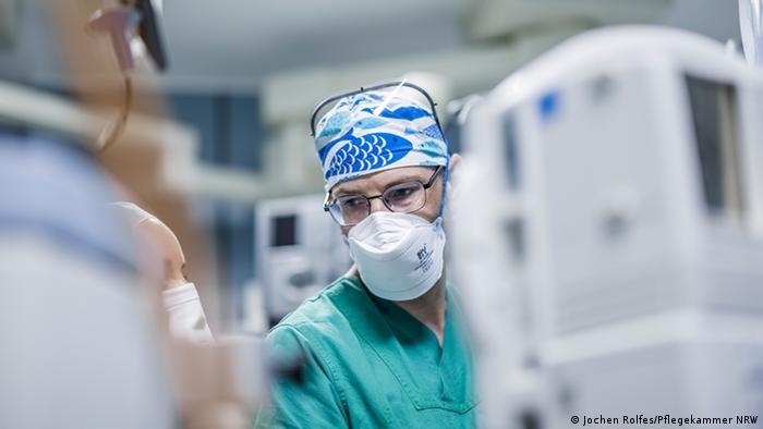 Bielefeld Ralf Berning asistent medical secția de terapie intensivă