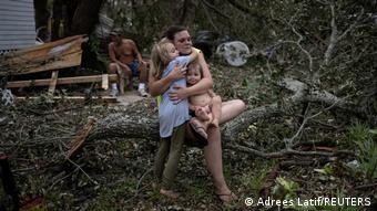 USA Hurricane Ida Wirbelsturm Louisiana