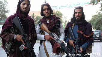Ένοπλοι Ταλιμπάν στην Καμπούλ