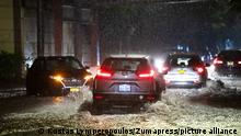 September 01, 2021: A massive tropical storm hits The NYC area creating flooding and stranding cars in Staten Island, New York. Mandatory credit: Kostas Lymperopoulos/CSM (Credit Image: © Kostas Lymperopoulos/CSM via ZUMA Wire