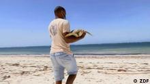 ***ACHTUNG: Bild nur im Kontext von Projekt Zukunft verwenden!*** via Rene Wilbrandt Meeresschildkröten / ZDF Meeresschildkröten sind gefährdet. In Kenia kämpft eine Organisation um den Erhalt der Art.